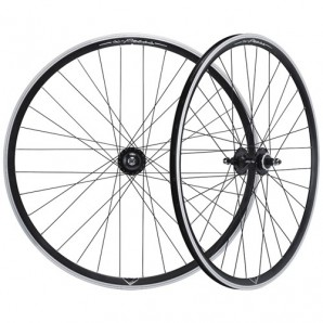 Laufradsatz MICHE X-PRESS Single-speed 700C schwarz