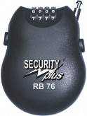 Security Plus Zahlenkabelschloss RB 76
