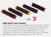 Griffe Pro Cross Country schwarz/transparent