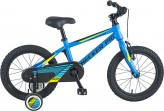 "Checker Pig Kinderfahrrad Checker 1-Gang - 16"", RH 20 cm, gelb matt"