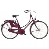 "Hollandrad BBF AMSTERDAM Damen 3-Gang ND violett - 24"", RH 40 cm"