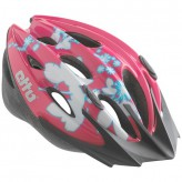 Etto Helm Shark Farbe pink weiß Gr. S/M 52-57 cm