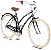 Johnny Loco Cruiser Vienna Damen 3-Gang schwarz - RH 54 cm