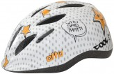 Etto Safe Rider Helm -  weiß orange