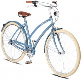 Johnny Loco Cruiser Venice Damen 3-Gang blau - RH 54 cm