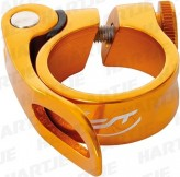 Contec Sattelklemmschelle SC-303 QR Select Odd orange ø 31,8 mm