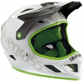 Bluegrass Full Face-Helm  Explicit Glossy White / Black / Green