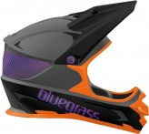 Bluegrass Full Face-Helm  Intox Grey/Orange/Purple